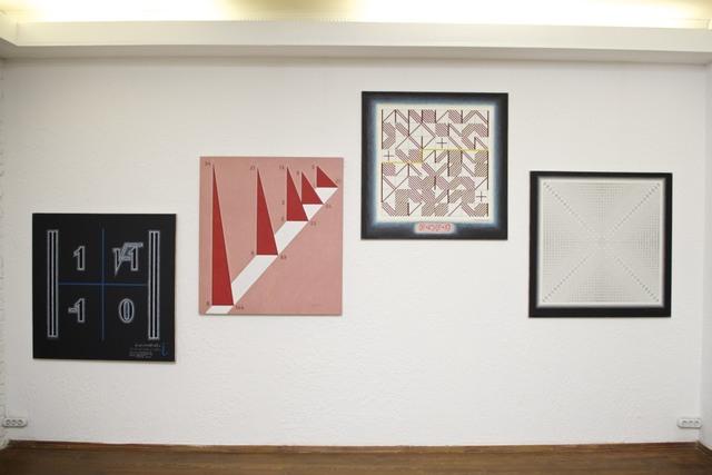 , 'series of paintings,' 2001-2011, Laboratoria Art & Science Space