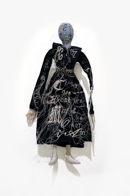 Lesley Dill, 'Unidentified Puritan Woman', 2018, Nohra Haime Gallery