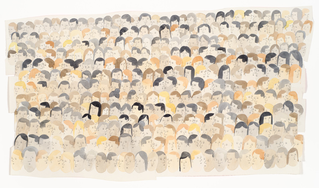 , 'A Small Crowd of About 350,' 2015, Fleisher/Ollman