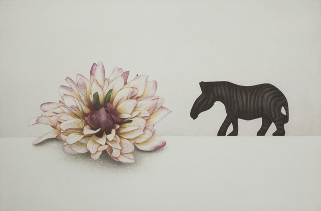 , 'flower and  zebra,' 2012, Gallery Now