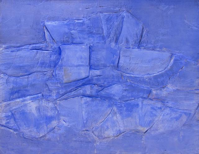 Raúl Díaz, 'ABSTRACTO', 2019, Painting, Mixed Media on Wood Panel, Jerald Melberg Gallery