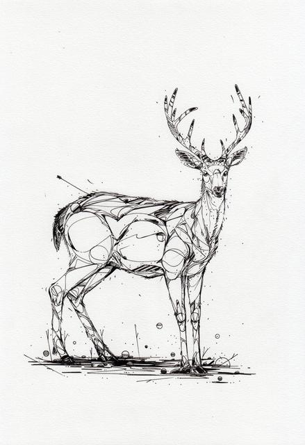 , 'Deer Check It,' 2018, GCA Gallery