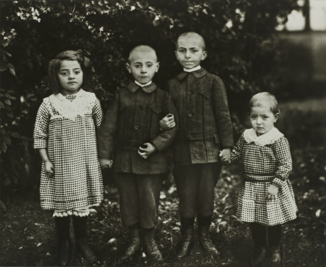 , 'II/10/14 Working-Class Country Children,' 1914, Galerie Julian Sander