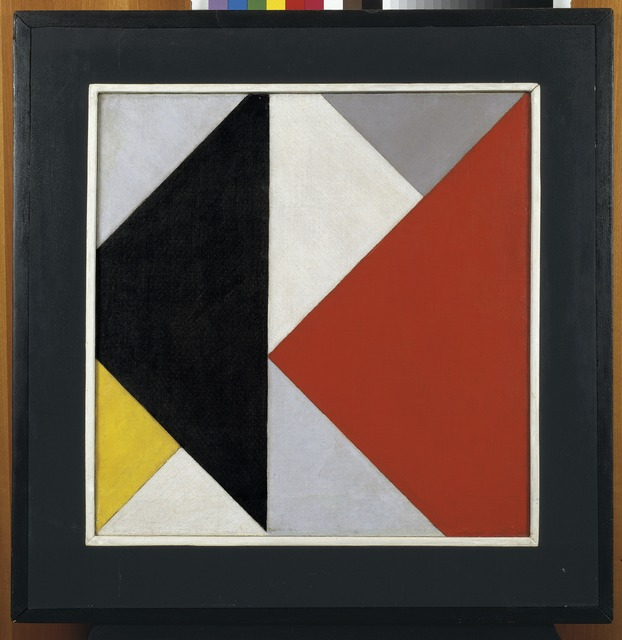 , 'Counter-composition XIII,' 1925-1926, Centre for Fine Arts (BOZAR)