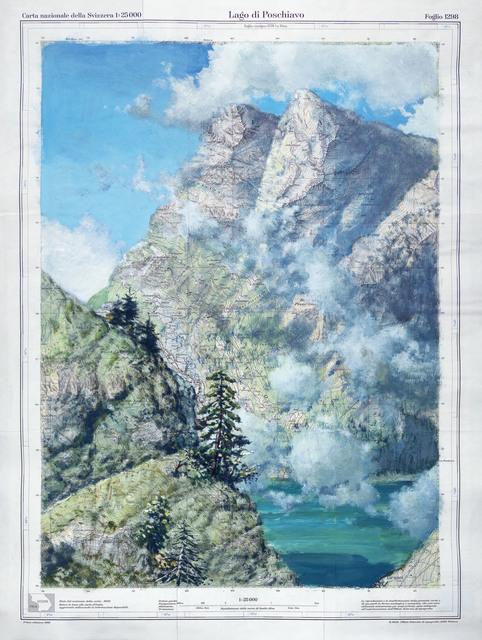 , 'Lago di Poschiavo,' 2011, MARCdePUECHREDON