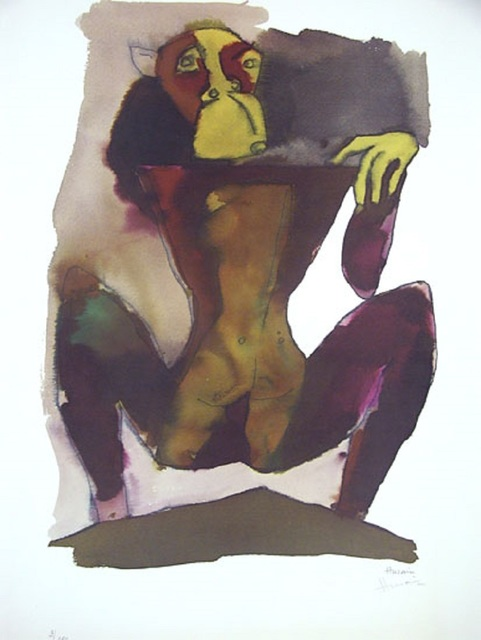 , 'Hanuman on Mountain,' , Aicon Gallery