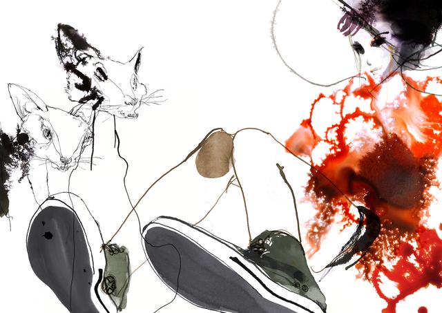 Daniel Egnéus, 'Cats', 2014, DECORAZONgallery