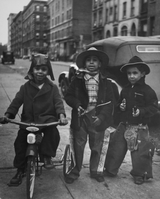 , 'Three Cowboys, Harlem,' 1938, PDNB Gallery