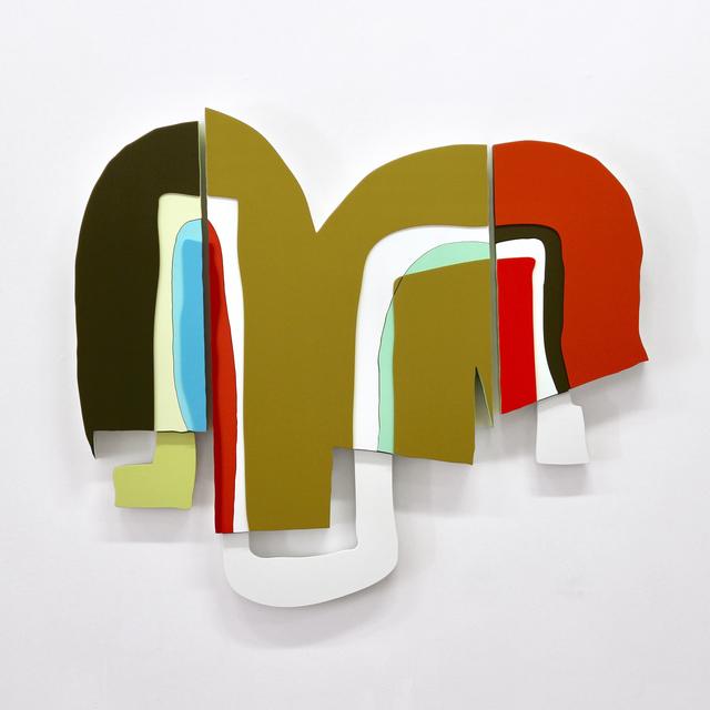 , 'V.KREBS, triptych,' 2017, Galerie Richard
