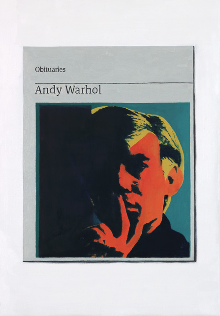 , 'Obituary: Andy Warhol ,' 2017, Charlie Smith London