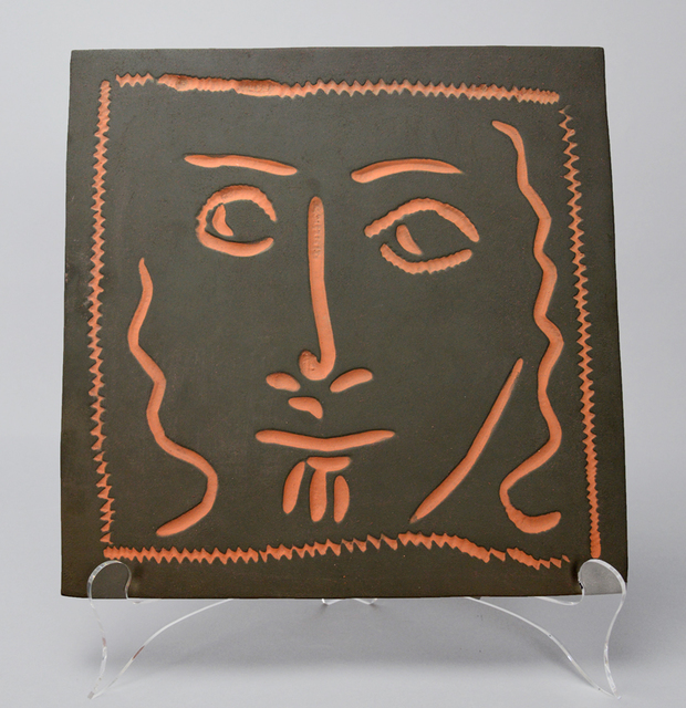 , 'Curly Haired Face (Visage aux cheveux bouclés),' 1968-1969, Masterworks Fine Art