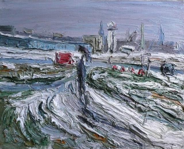 , 'Tempelhofer Feld,' 2014, Galerie Kornfeld