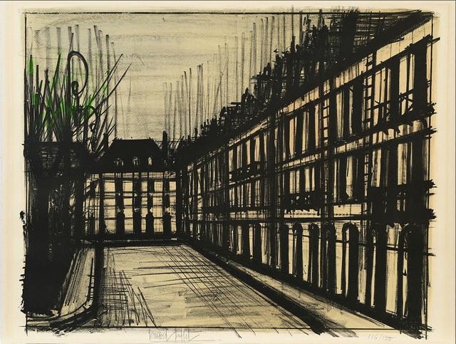 Bernard Buffet, 'La Place des Vosges', 1962, Le Coin des Arts