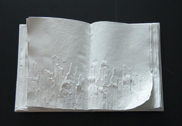 , 'Snowy New York,' 2015, Galleria Ca' d'Oro