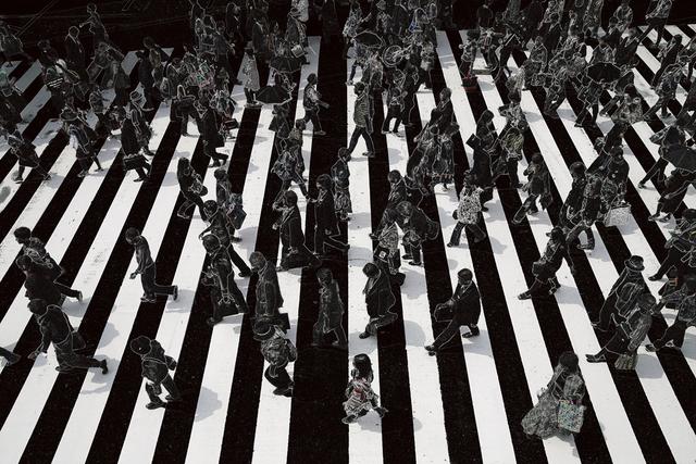 , 'Tokyo Crossing,' 2008, Sous Les Etoiles Gallery