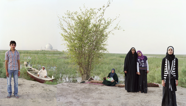 , 'Adam and Eve in the S. Iraq Marshes,' 2011-2012, Brian Gross Fine Art