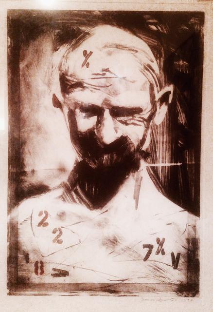 , 'Bald,' 1995, Tabla Rasa Gallery