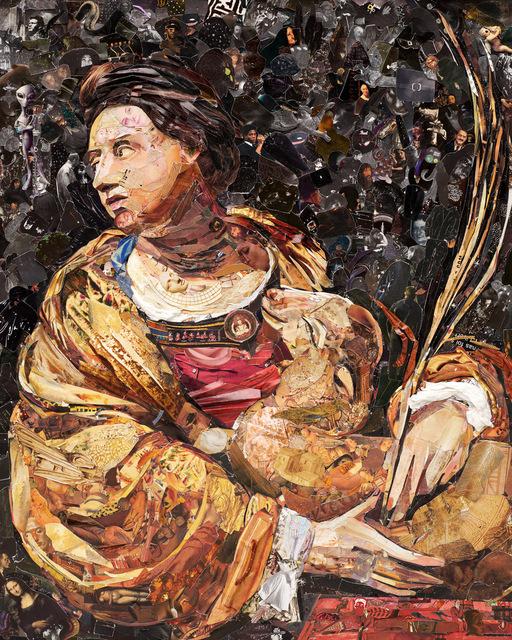 , 'Repro (Saints): Saint Agnes, after Simon Vouet,' 2018, Galeria Nara Roesler