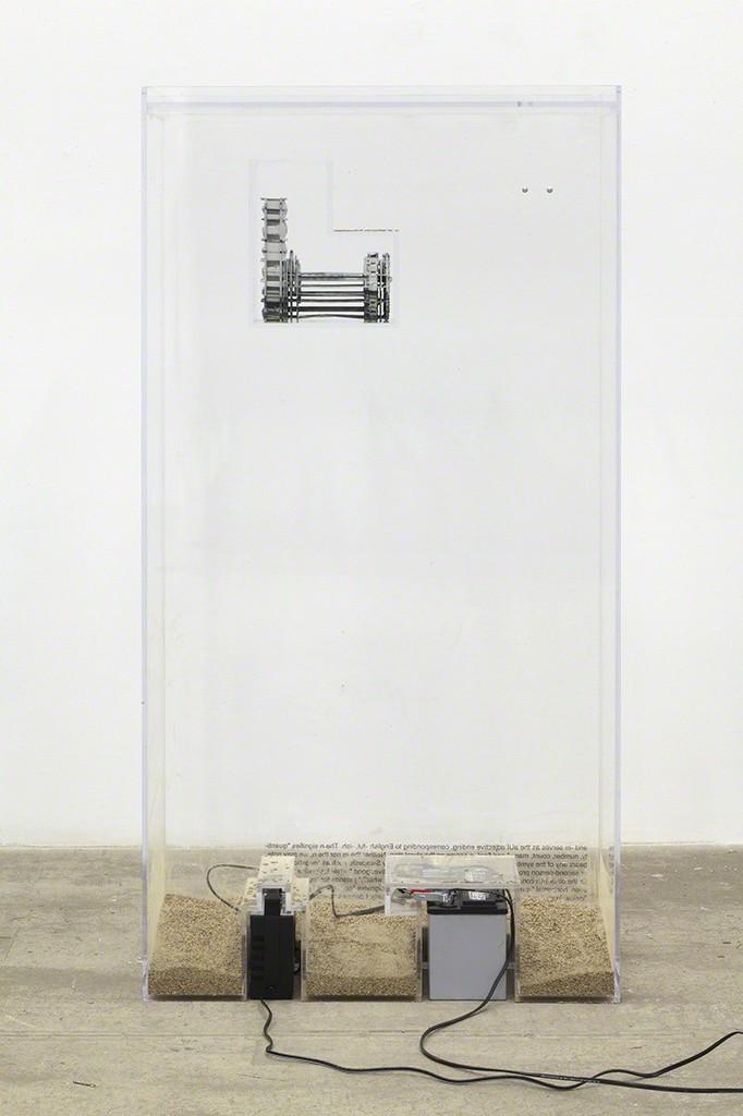 Ben Schumacher, 'http://youtu.be/NsBq1MRKxQQ (drilling),' 2014, Bortolami