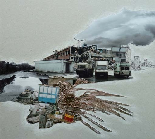 , 'Lost Town II,' 2013, Pari Nadimi Gallery