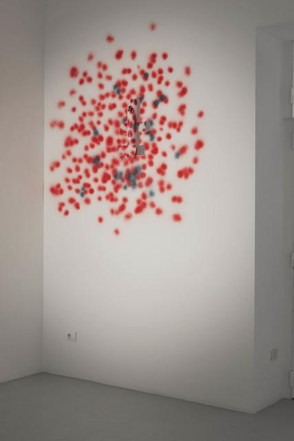 , 'Camouflage en rouge,' 1987, Galleria Giovanni Bonelli