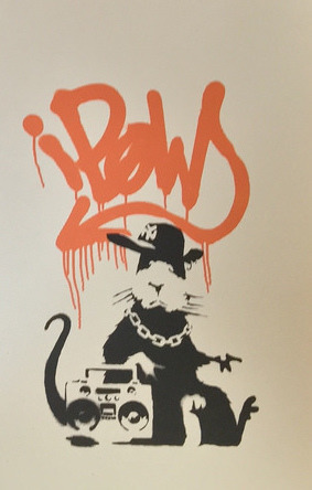 , 'Gangsta Rat Orange, AP,' 2004, Galerie Kronsbein