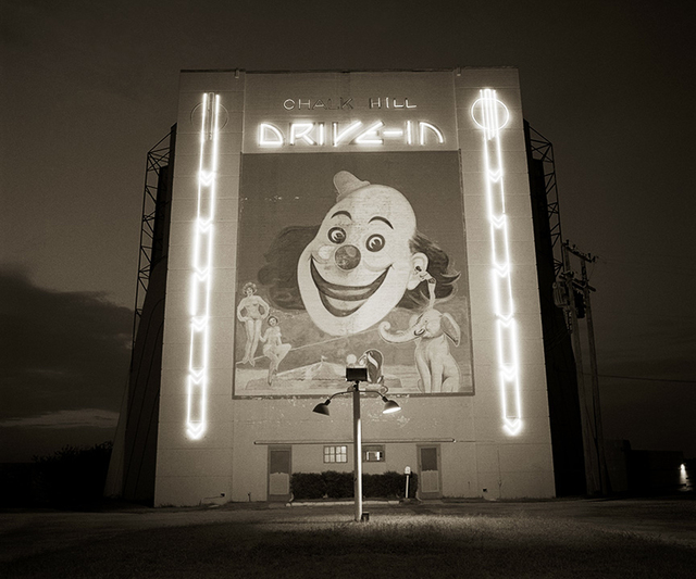 , 'Drive-in theater, Highway 80, Dallas, Texas,' 1973, Kopeikin Gallery