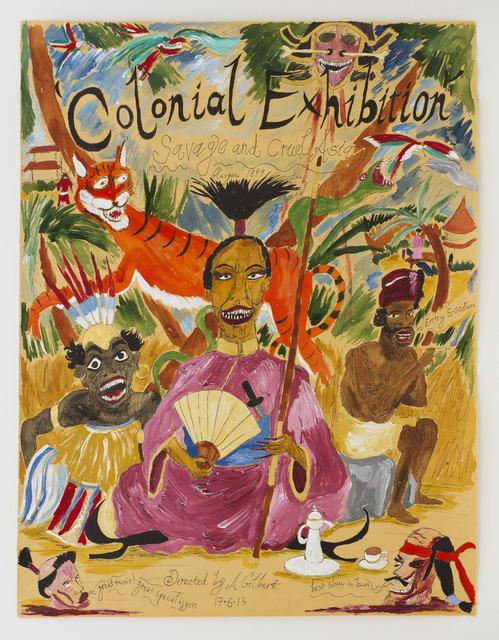 , 'Colonial Exhibition Glasgow 1899,' 2013, Nanzuka