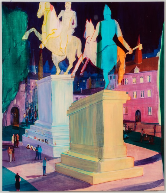 , 'Battling Monuments,' 2017, Galerie Thaddaeus Ropac