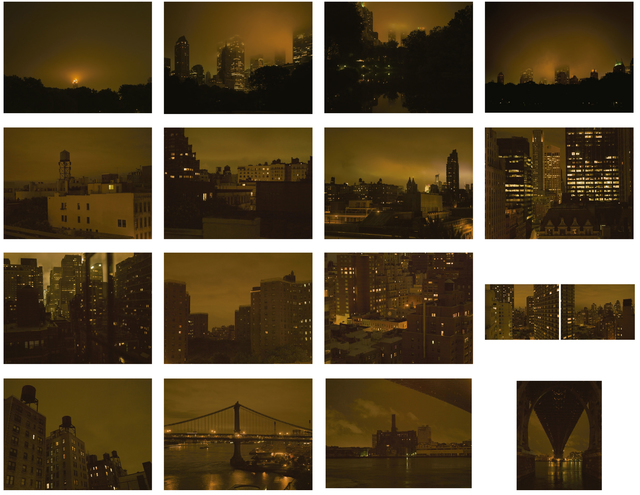 , 'New York / Night Ligthts (Set of 16 photographs),' 2011, Alarcón Criado