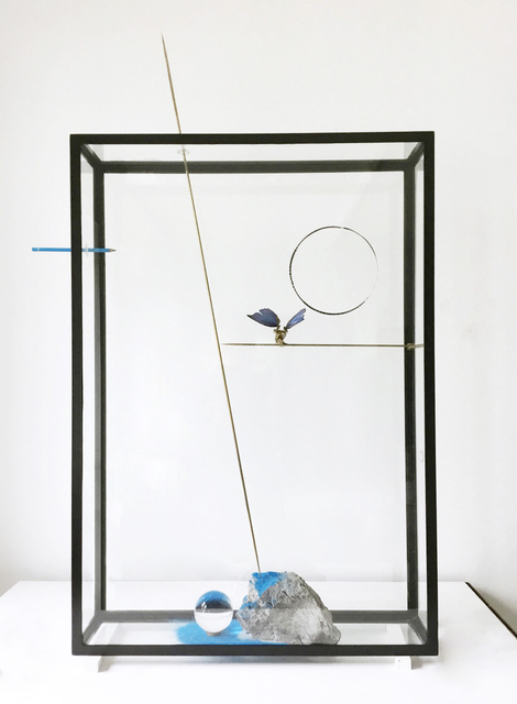 , ' Blue Butterfly,' 2017, Studio Trisorio
