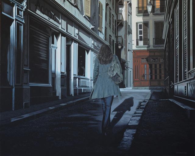 , 'La nuit américaine 1,' 2018, Galerie Ulrich Gering