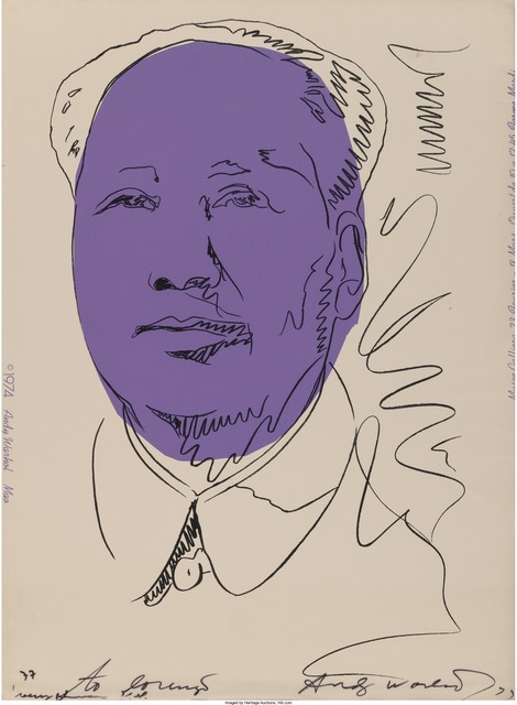 Andy Warhol, 'Mao', 1974, Heritage Auctions