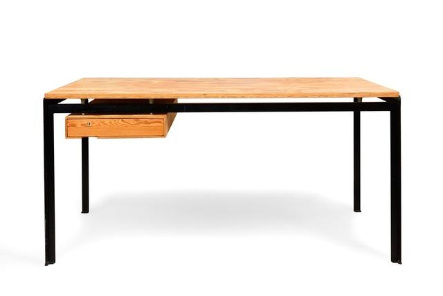 , 'Original desk for School of Architecture, Royal Danish Academy of Fine Arts, Copenhagen,' 1955, Galerie Le Beau - Stanislas & Céline Gokelaere