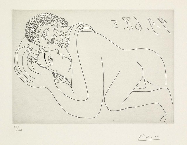 , 'Couple d'amoureux (347 Series, B.1800),' 1968, Martin Lawrence Galleries