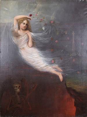 ", 'David Scott Evans, ""Transformations"",' 1870, Ricco/Maresca Gallery"