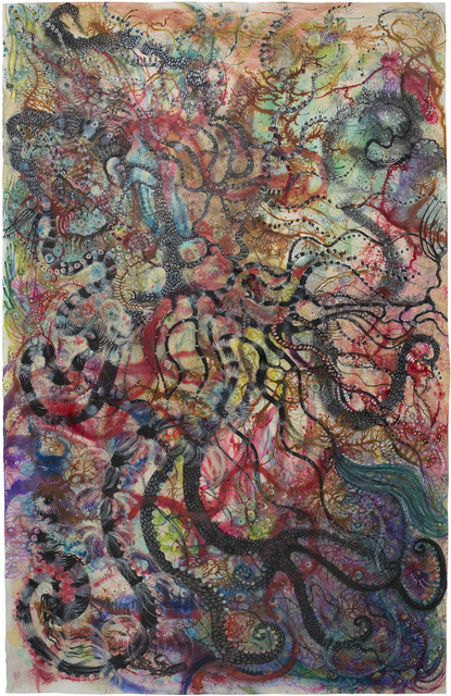 Izabella Ortiz, 'Water Memories', 2019, Painting, Mixed media, ink, pen, acrylic, Cavin-Morris Gallery
