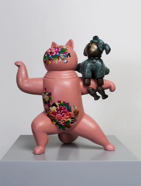 , '粉猫; Pink Cat,' 2015, Linda Gallery