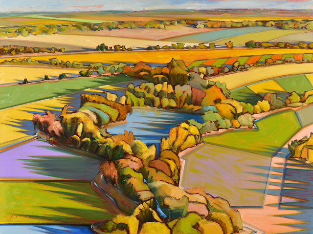 , 'Dusk,' 2019, Blue Rain Gallery