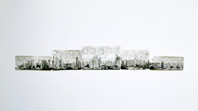 ", '""Skylines, Nº III"", from the series ""Zona de Conforto"",' 2016, Portas Vilaseca Galeria"