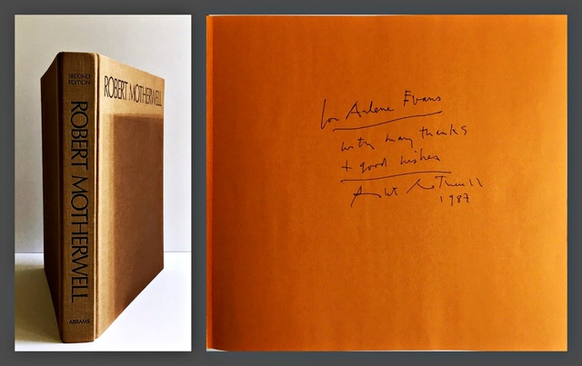 Robert Motherwell, 'Robert Motherwell (Hand Signed and Inscribed by Robert Motherwell)', 1982, Alpha 137 Gallery