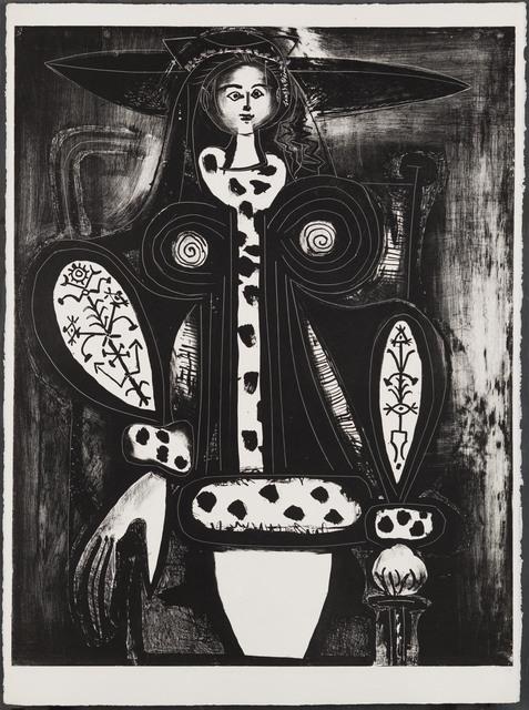Pablo Picasso, 'Woman in Armchair', 1948, Christopher-Clark Fine Art