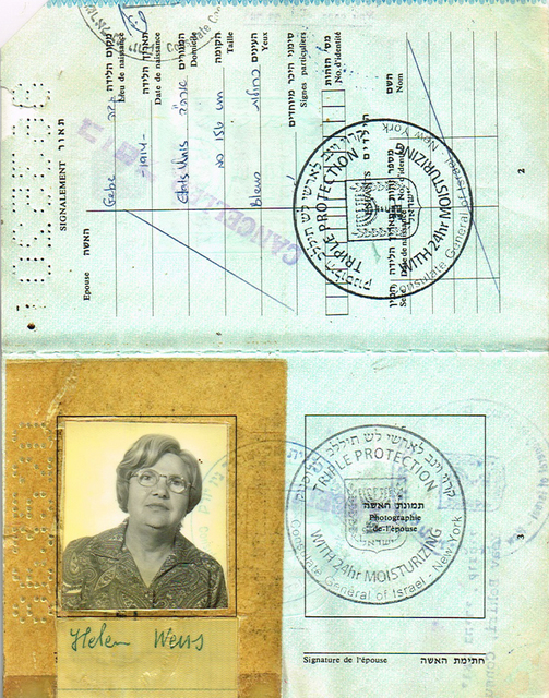 , 'Israeli Passport,' 2010, The Moving Museum