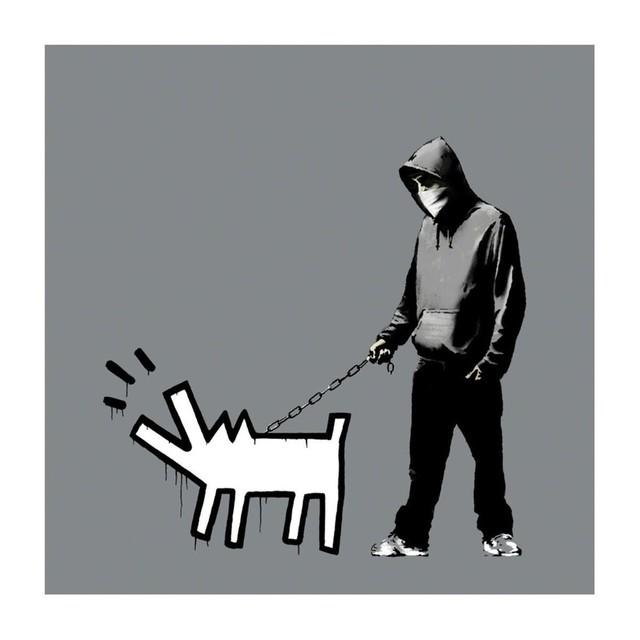 Banksy, 'Choose Your Weapon (Grey)', 2010, Taglialatella Galleries