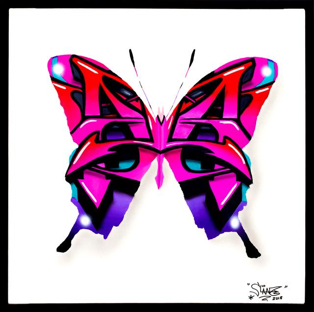 , 'Urban Butterfly 2 Aporia,' 2018, Galerie Art Jingle