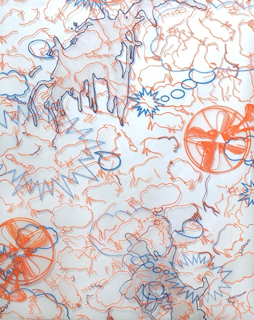 , 'Bison Fans,' 2011, Susan Eley Fine Art