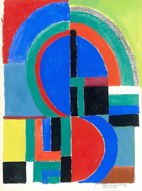 , 'Rythme couleur,' 1966, HELENE BAILLY GALLERY