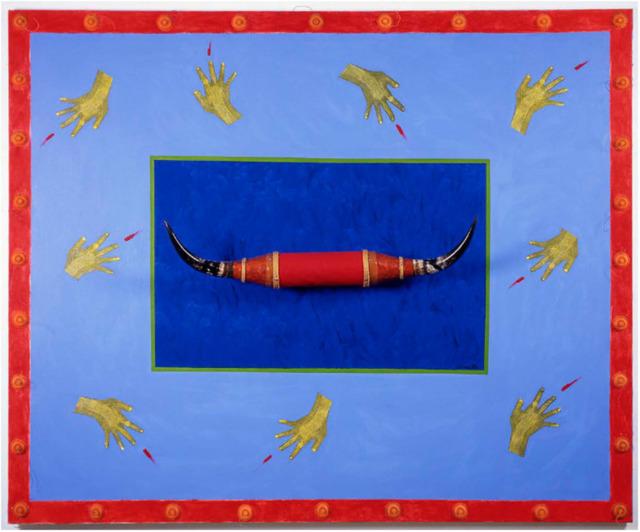 , 'Floating landscape with horns,' 1993, Instituto de Visión