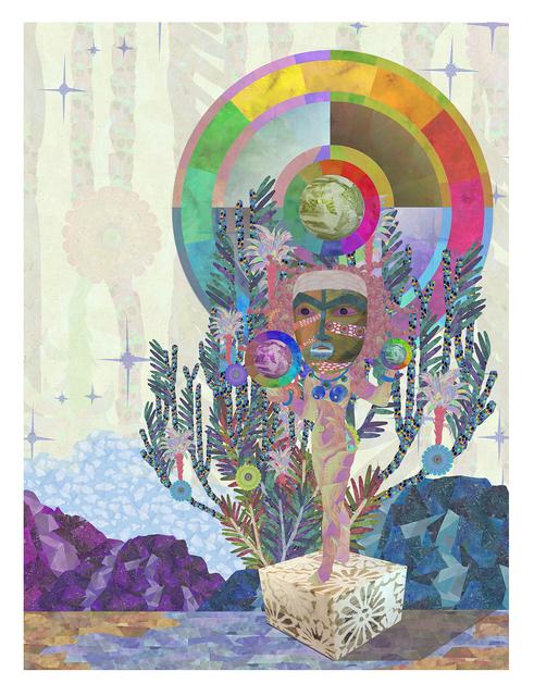 , 'Encyclopedia of Cloud Divination (Plate 3),' 2018, Lower East Side Printshop