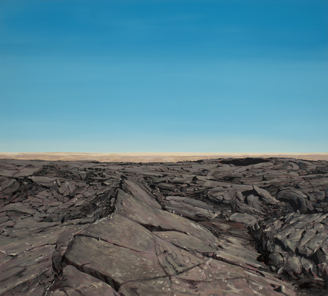 , 'Lava Field Surface I,' 2017, Russo Lee Gallery